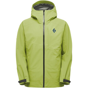 Black Diamond Recon Stretch Ski Shell Jacket Herr verde